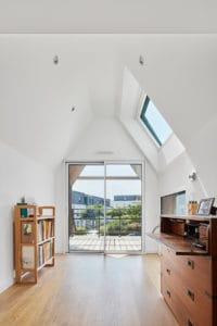 espace bureau crée dans l'extension
