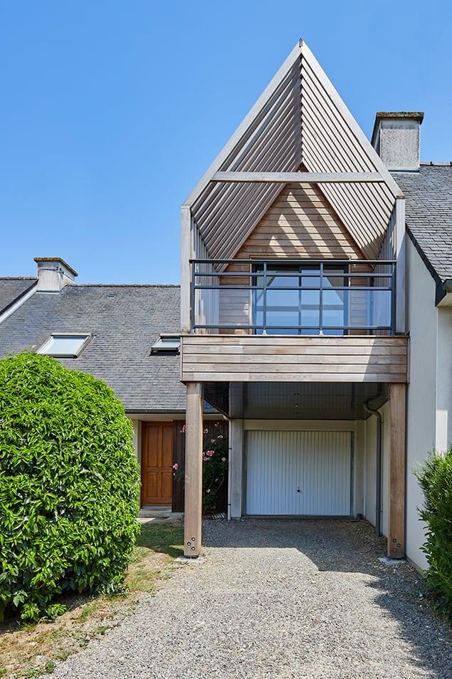 la maison et son extension à Rennes