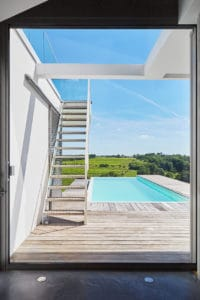 maison architecte piscine