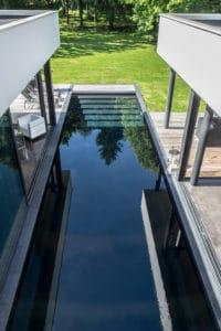 piscine dans la maison
