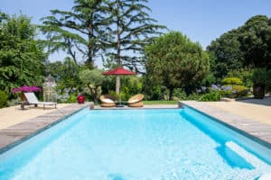 piscine maison de famille