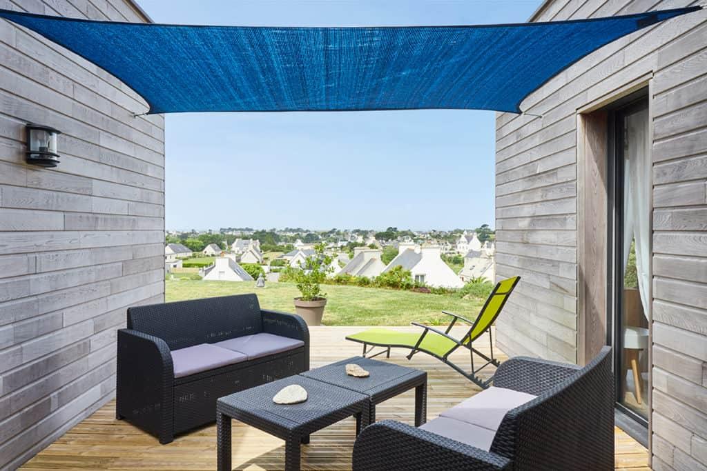 petite terrasse avec vue sur les côte du Finistère (29)