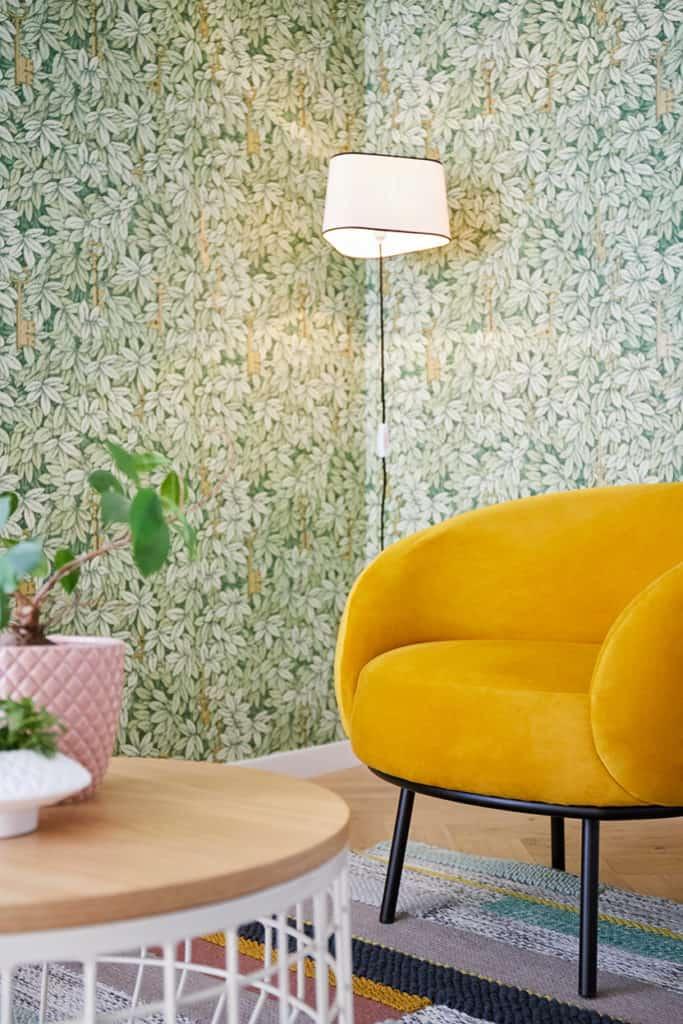 déco nature salon_fauteuil_jaune
