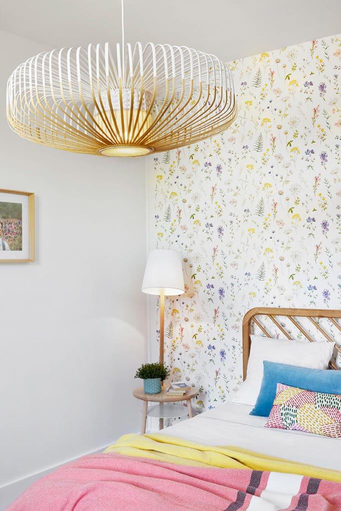 chambre ados naturelle et fleurs