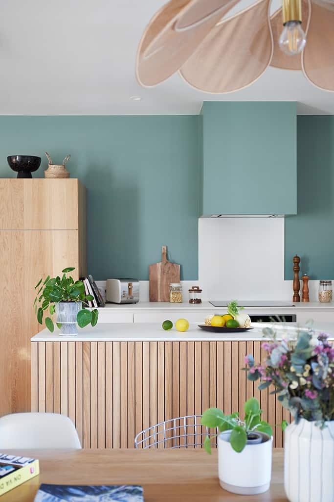 cuisine aux tons pastels