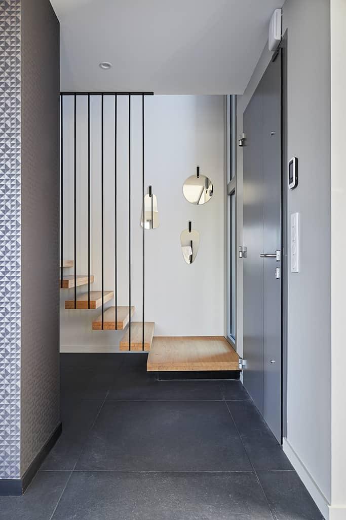 escalier de la maison témoin