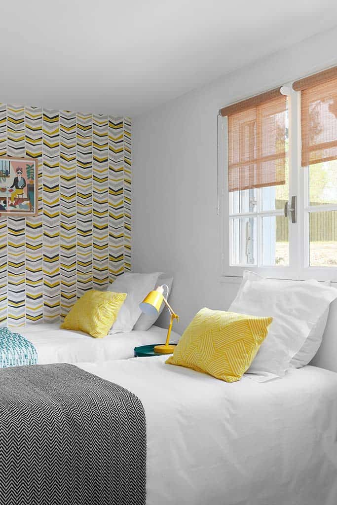 décoration colorée pour le dortoir