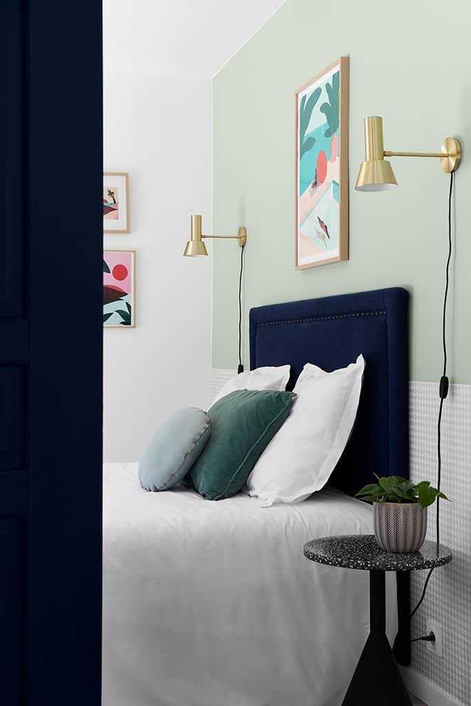 Chambre 2 aux couleurs douces et pastels