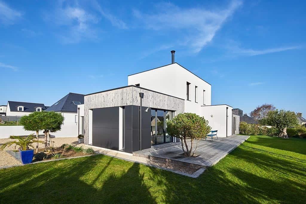 maison au style contemporain à Morlaix