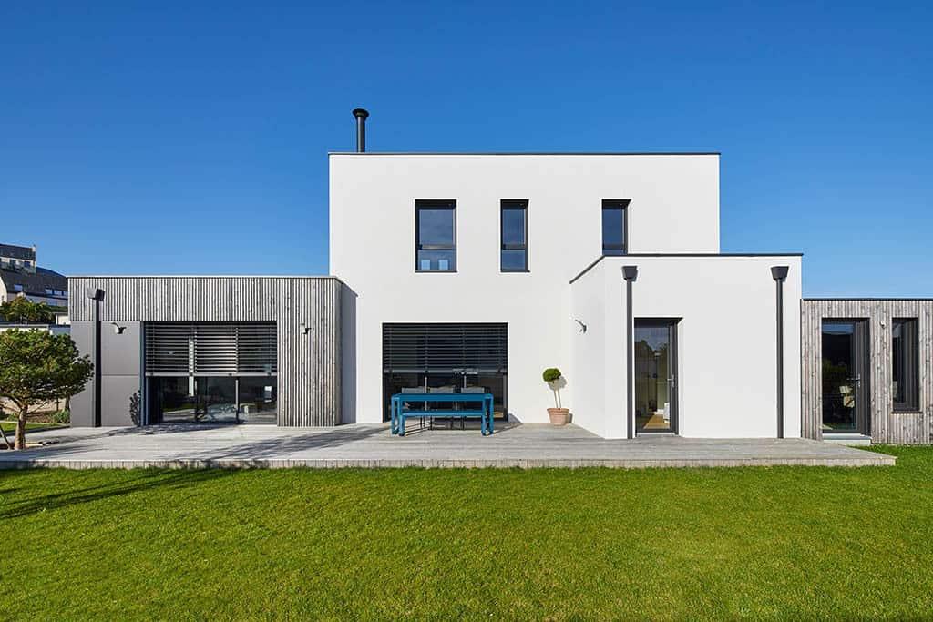 Maison au style contemporain